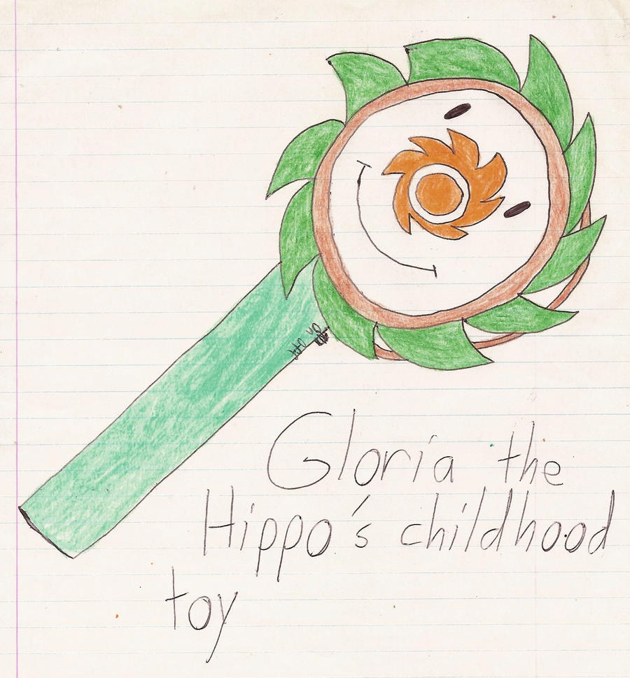 Gloria The Hippo's Childhood Toy By Magic-Kristina-KW On