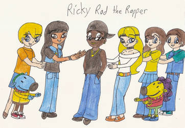 The Preteen Misfits introduce Ricky Rod the Rapper by Magic-Kristina-KW