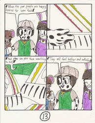 Clever Belovers in the World of Pac comic pg 13 by Magic-Kristina-KW