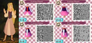 Animal Crossing New Leaf Princess Eilonwy QR code by Magic-Kristina-KW