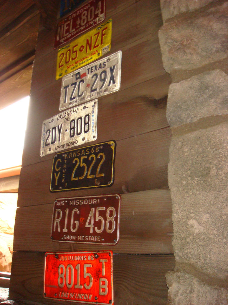 Cars Land - License plates of Radiator Springs by Magic-Kristina-KW