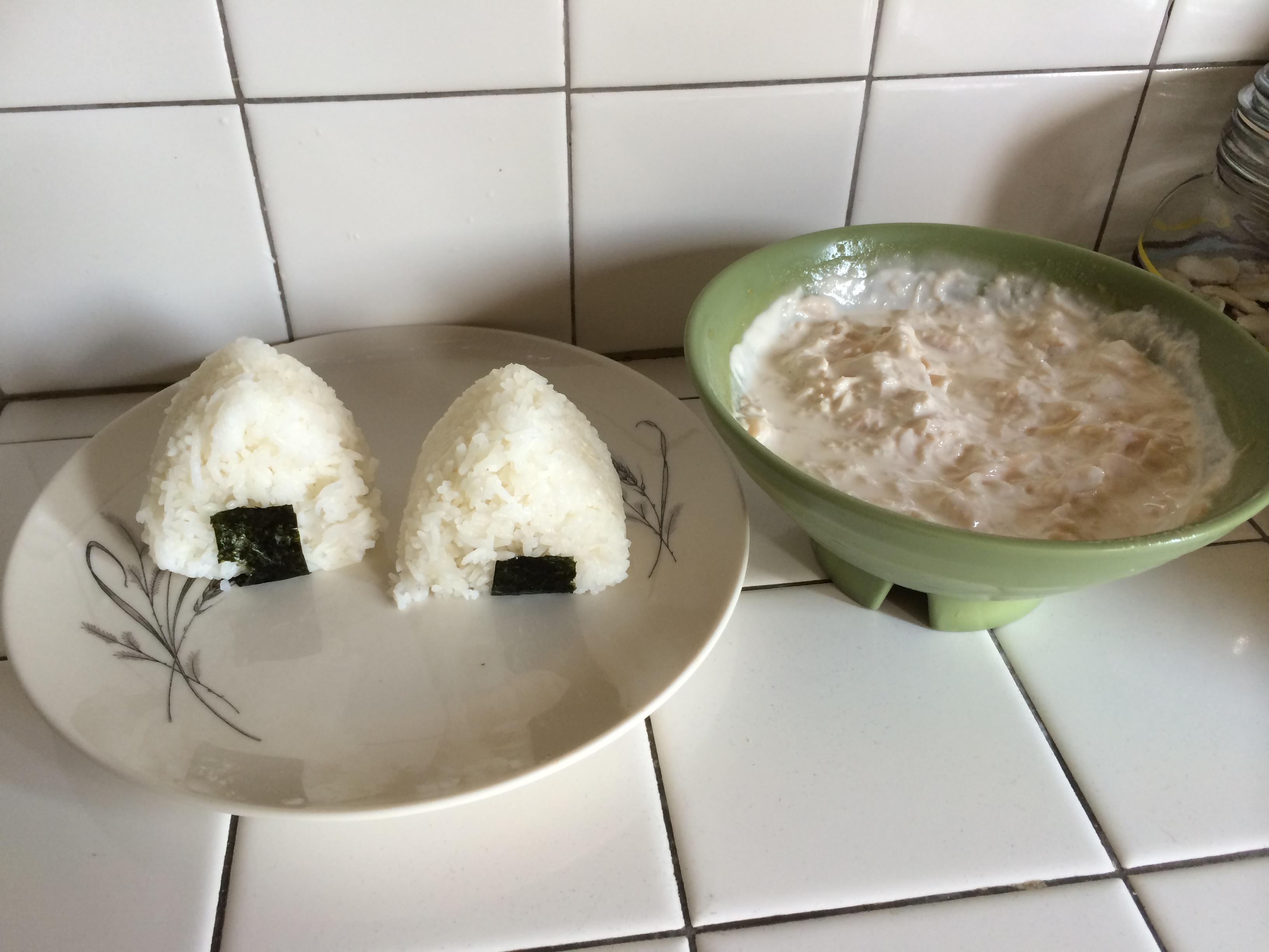 how to make chicken rice balls