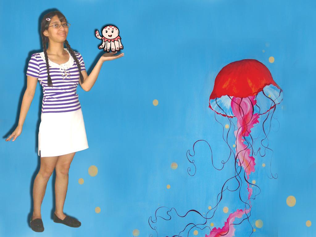 Me as Tsukimi Kurashita from Princess Jellyfish by Magic-Kristina-KW