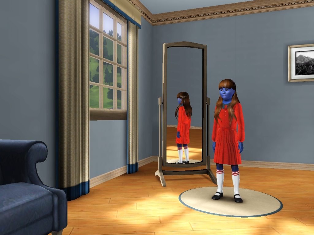 Sims 3 - Denise Nickerson in everyday outfit 4 by Magic-Kristina-KW