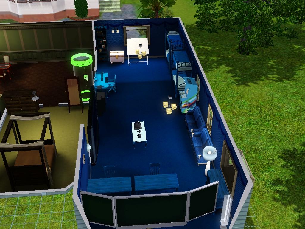 Sims 3 - Beauregarde Girls' new bedroom photo 4 by Magic-Kristina-KW