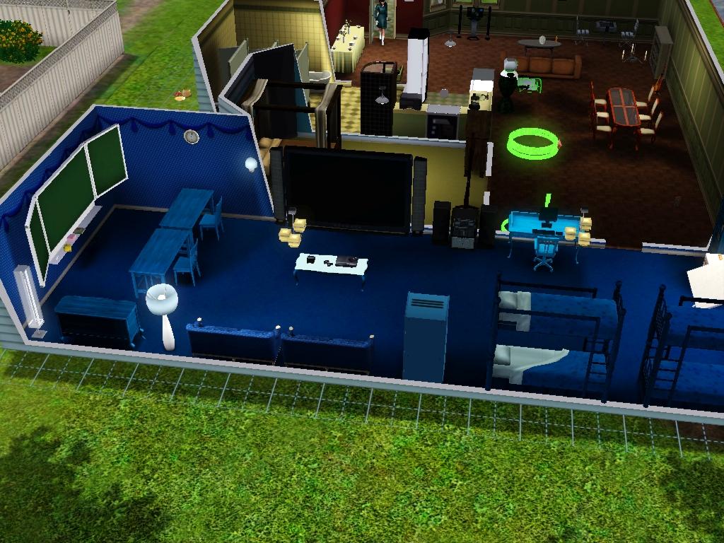 Sims 3 - Beauregarde Girls' new bedroom photo 3 by Magic-Kristina-KW
