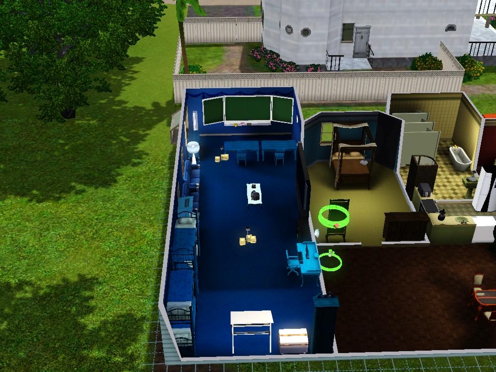 Sims 3 - Beauregarde Girls' new bedroom photo 2 by Magic-Kristina-KW