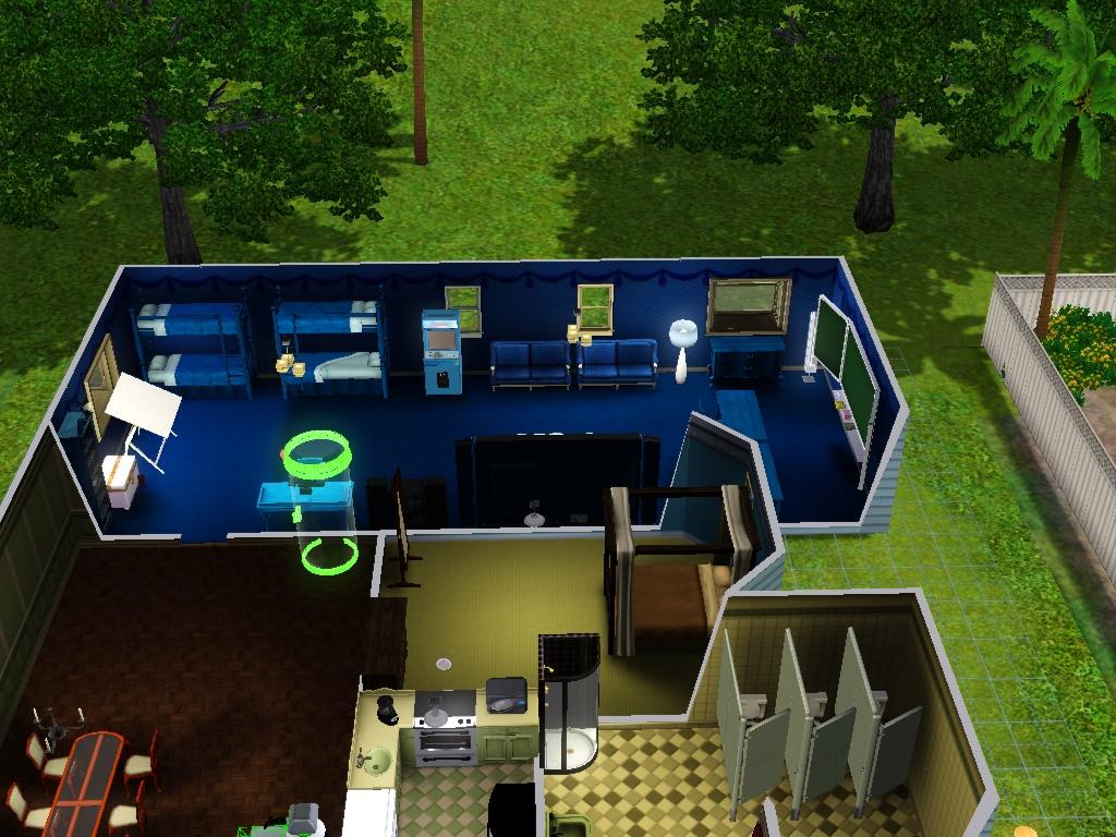 Sims 3 - Beauregarde Girls' new bedroom photo 1 by Magic-Kristina-KW