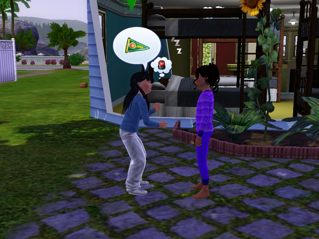 Sims 3 - I talk about dreams and jobs by Magic-Kristina-KW