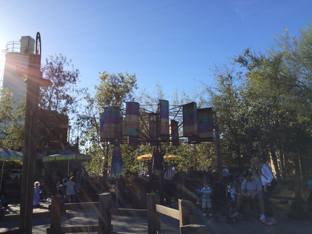 I'm at Fillmore's Taste-In of Cars Land photo 6 by Magic-Kristina-KW