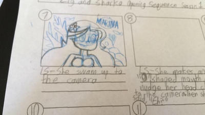 I learn how to draw Marina in storyboard by Magic-Kristina-KW