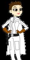 MLPRGSWA - Princess Leia in Equestria Girls style