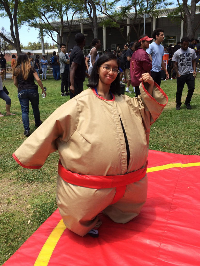 Me in inflatable sumo wrestler suit photo 2 by Magic-Kristina-KW ...  sc 1 st  DeviantArt & Me in inflatable sumo wrestler suit photo 2 by Magic-Kristina-KW on ...