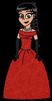 HaVTitC - Kristina in royal ballroom dress
