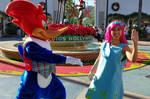 I met Woody Woodpecker as human Princess Poppy 5