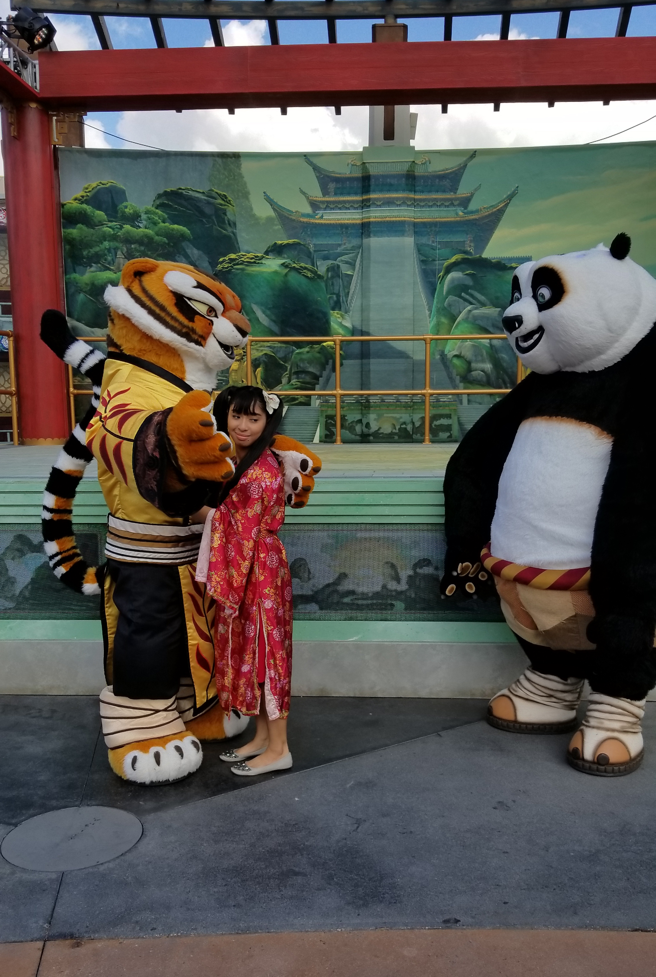 I met Po and Tigress at USH Lunar New Year Event 6 by ...