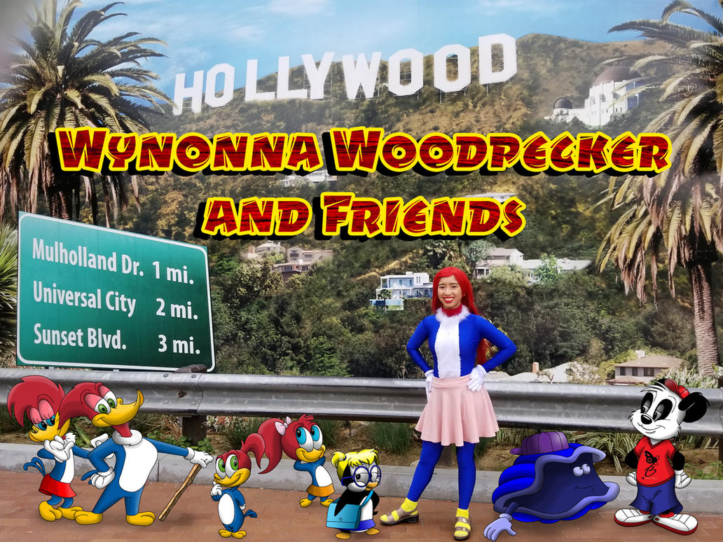 Wynonna Woodpecker and Friends poster by Magic-Kristina-KW