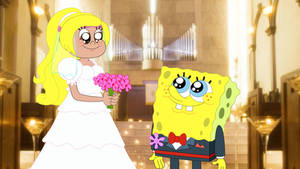 Sabrina GirlPants married Spongebob Squarepants by Magic-Kristina-KW