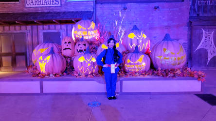 Me as Berry Violet in Knott's Scary Farm
