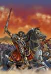 King Conan in Battle