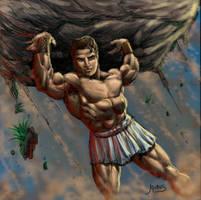 Hercules Teenager by RubusTheBarbarian