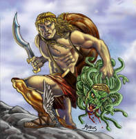 Perseus the Hero by RubusTheBarbarian