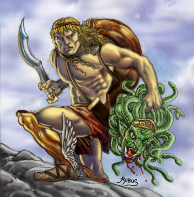 medusa and hero The hero and the titan get into a fight, because atlas refuses to offer perseus shelter hotheaded perseus ends the argument by whipping out medusa's head and turning atlas into stone (it is said that mt atlas, in modern day morocco, is the petrified remains of the titan.