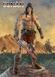 Conan triumphant - ravaged