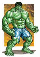 Marvel - Green Hulk by RubusTheBarbarian