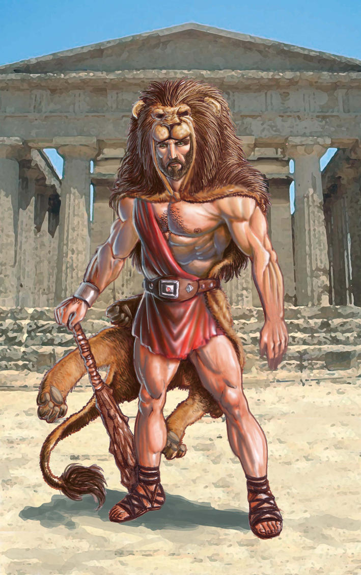 Mighty Heracles, Son of Zeus Picture, Mighty Heracles, Son ...