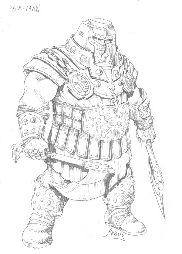 MOTU - Ram-Man by RubusTheBarbarian