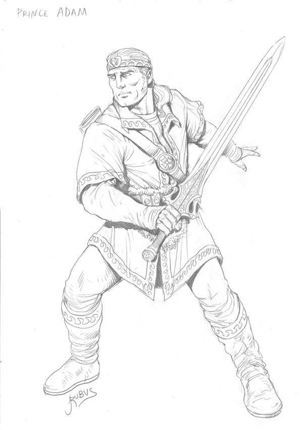 MOTU - Prince Adam by RubusTheBarbarian