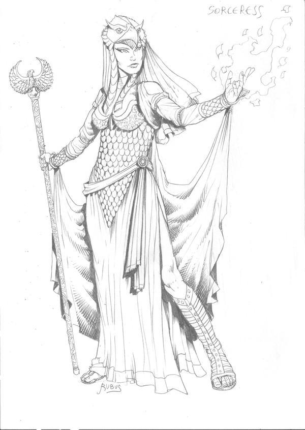 MOTU - Sorceress by RubusTheBarbarian