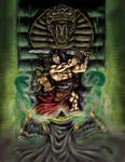 Conan against Master of Yimsha
