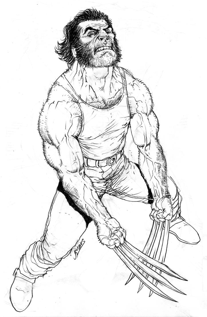 Wolverine's anger by RubusTheBarbarian