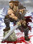 Osric the Barbarian