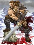 Osric the Barbarian