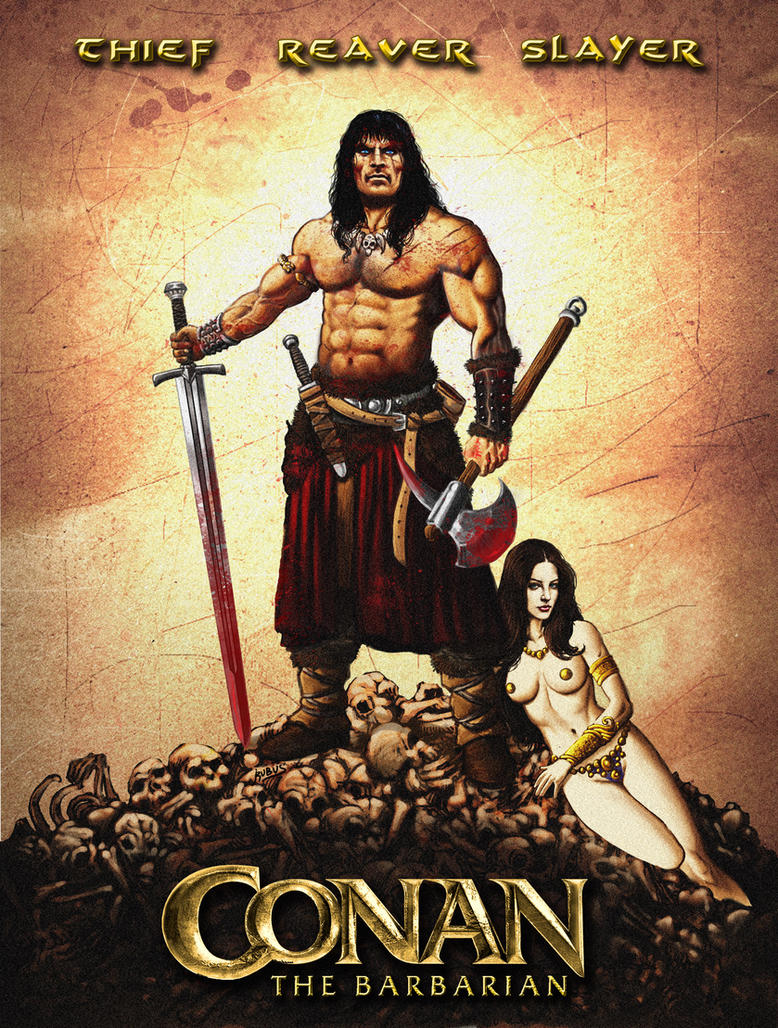 Conan the Barbarian 2011 by RubusTheBarbarian