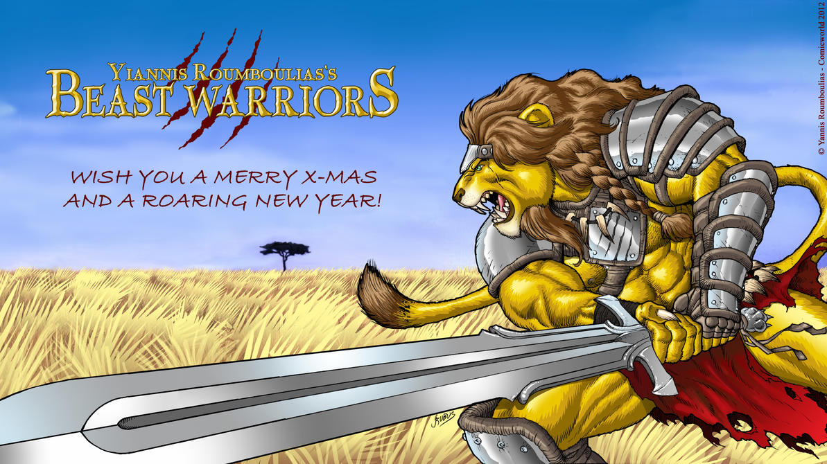 Beast Warriors - Numak X-mas by RubusTheBarbarian