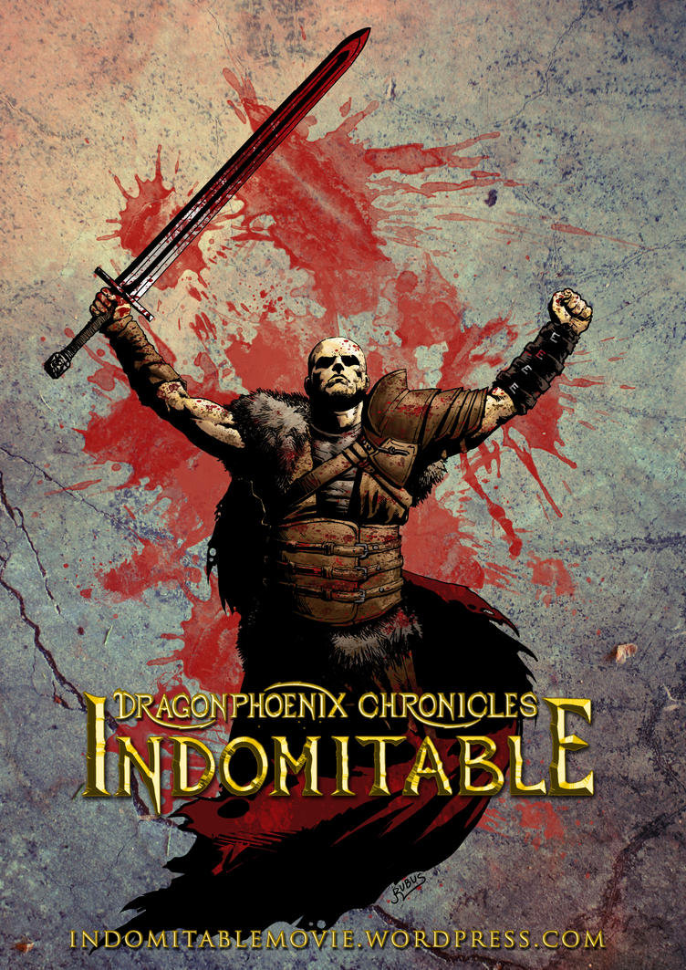Indomitable - Dragar Teaser Poster by RubusTheBarbarian