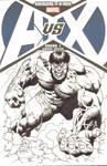 Hulk AvsX Blank Cover Commission