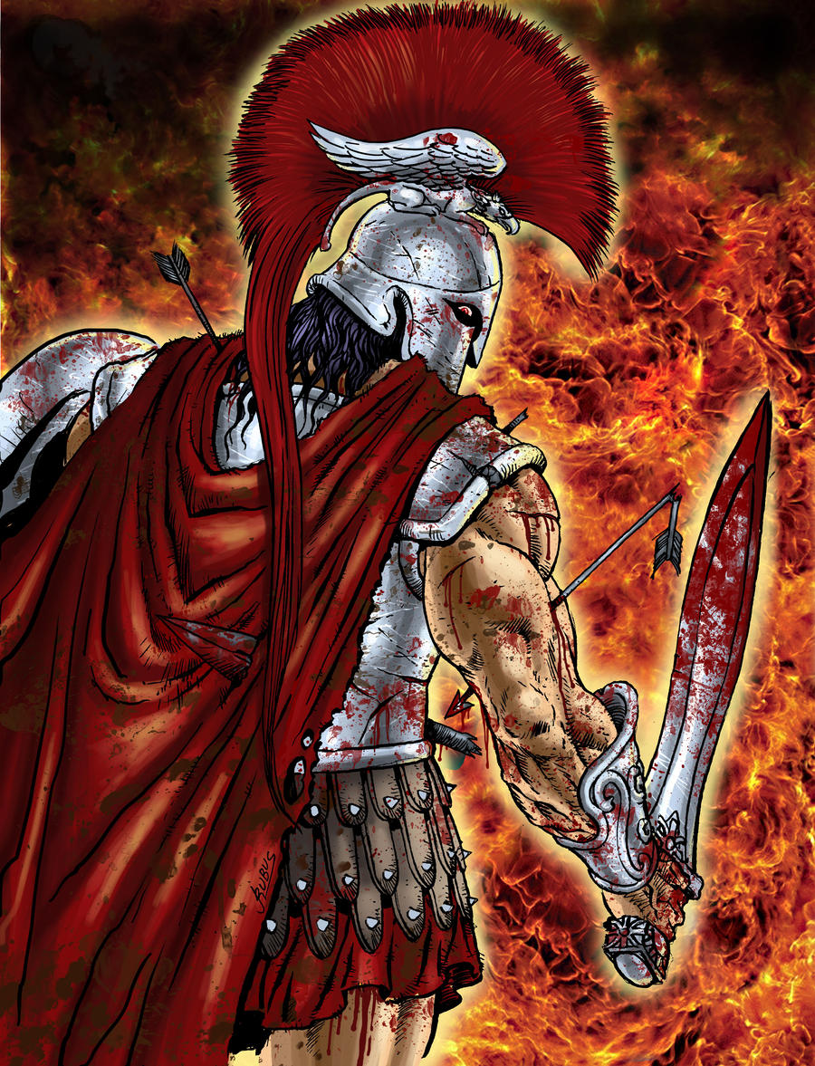 Ares, God of War by RubusTheBarbarian on DeviantArt