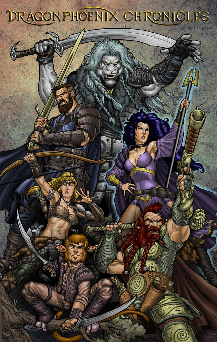 Dragonphoenix Chronicles Adventurers 2013 by RubusTheBarbarian