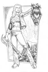 Buffy the Vampire Slayer 2014 commission by RubusTheBarbarian