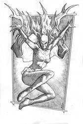 Bat Girl Cassandra Cain 2014 commission by RubusTheBarbarian