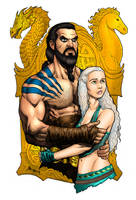 Game of Thrones - Drogo and Daenerys by RubusTheBarbarian