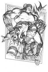 Bane breaks the Bat 2014 by RubusTheBarbarian