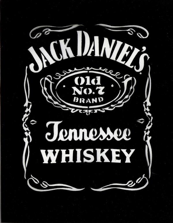 Jack Daniels 2 by venomalienz on DeviantArt Jack Daniels Logo Stencil