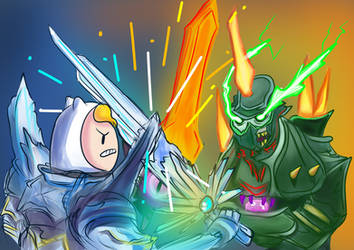 The Battle for Everyone's Souls by Liberty-Primes