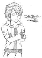 Jake Hiroshi -My OC- by Ashayami